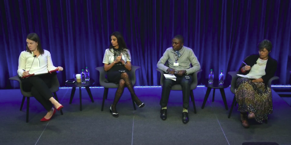 Internews panel discussion screenshot